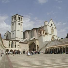 Assisi basilica di S. Francesco
