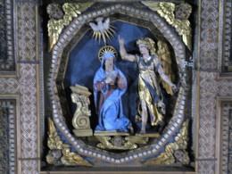 Soffitto della Chiesa di S. Maria della Consolazione particolare dell'Annunciazione