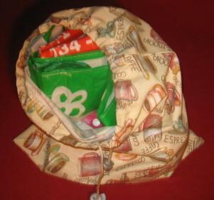porta borse spesa