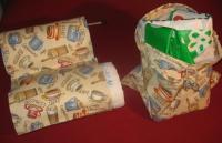 Cod. bis01 porta carta casa e porta borse spesa