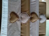 cod. prc106 porta rotoli in tessuto di cotone