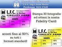 OFFERTA FIDELITY CARD