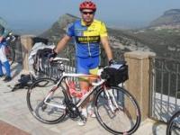 Gerardo Visconti alla Randonnè di Salerno