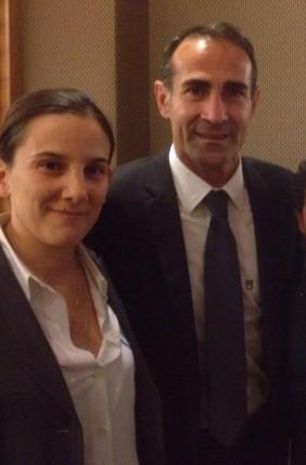 mister Valentina con Angelo Alessio