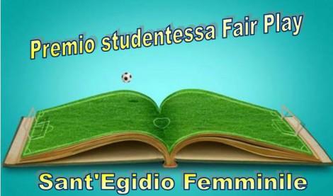"""Istituzione premio """"Stedentessa Fair Play"""""""