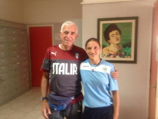 Mister Olivieri con Mister Maldera