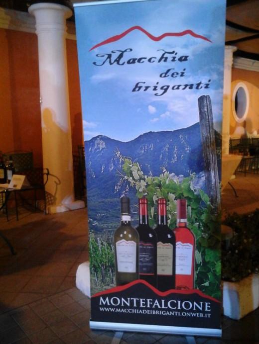 Vini Macchia dei briganti allo Stabia Wine Event
