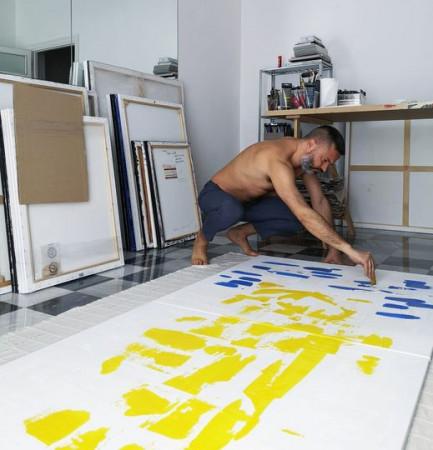 Massimiliano Ferragina artista