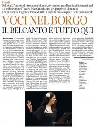 Corriere Fiorentino 13 agosto 2016