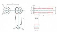 Disegni CAD esercitazione per  STUDENTI MECCANICA