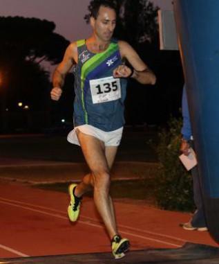 Paolo Marinelli al traguardo