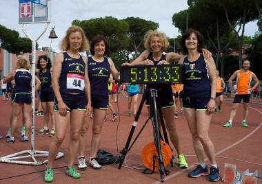Record della 4x400 metri F60