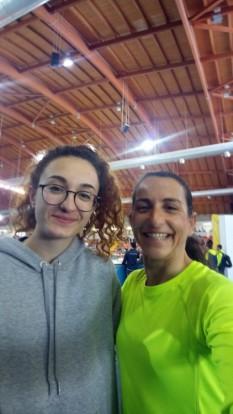 Elisa e Lucilla ad Palaindoor di Ancona