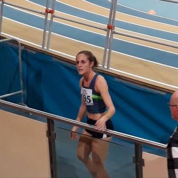 Erica subito dopo la gara