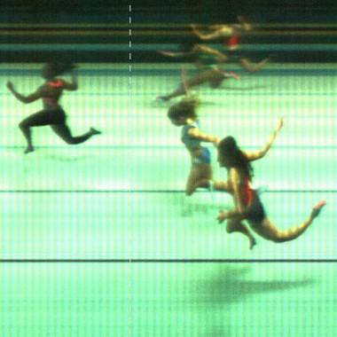 Il photofinish della finale 60m di Carolina