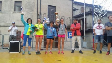 Le premiazione di Ilaria,Ippolita e Paola