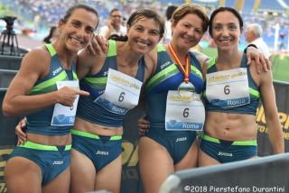 4x100 metri femminile