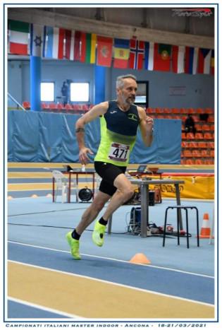 Lucio in azione nei 1500 metri
