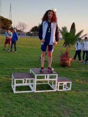 Matilde premiazione dei 200 metri