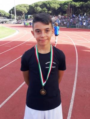 Leonardo 3° posto nel Vortex con 44m45