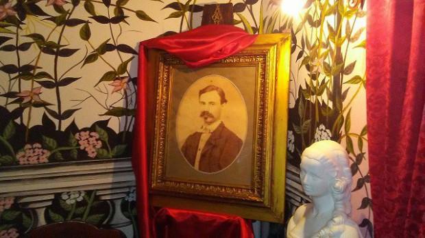 WINTER GARDEN il ritratto fotografico di Luigi