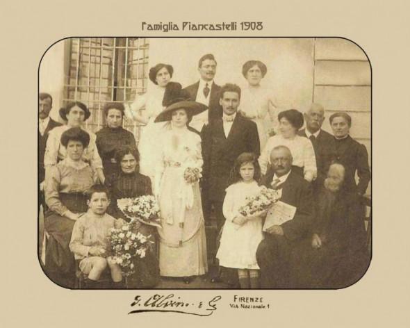 La Famiglia Piancastelli, ( un matrimonio nel 1908 )