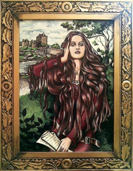 The Lady of Eilean Donan Castle, di Giuliano Piancastelli