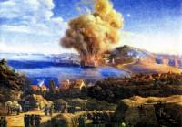 Assedio di Gaeta, scoppio della polveriera Sant'Antonio