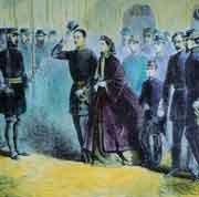 14 février 1861 - Les Souverains napolitains quittent jamais Gaeta et les États-