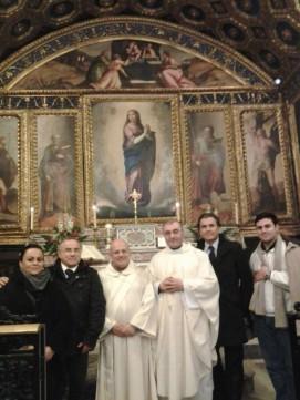 foto gruppo con l'avv. Scafetti