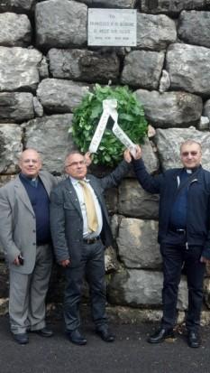 Les trois promoteurs membres: de gauche Don Massimo Cuofano, Pantaleo Losapio et Don Luciano Rotolo