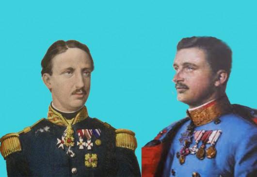 Francesco II di Borbone e il Beato Carlo I  D'Asburgo
