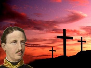 Guardando la Croce, volle il bene, e solamente il bene!
