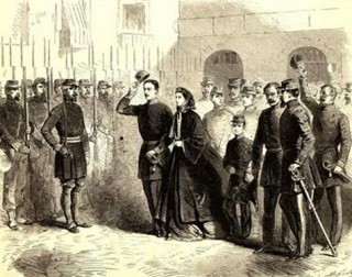Die Royals verlassen Gaeta ins Exil gehen