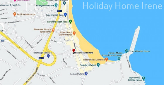 The apartment is located in a residence at 50 meters from the beach.