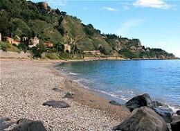 Spiaggia di Villagonia - Taormina