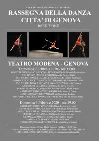 Galà della danza città di Genova di Enkel Zuti