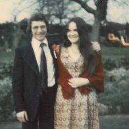 Helen il giorno delle sue nozze con Ernie