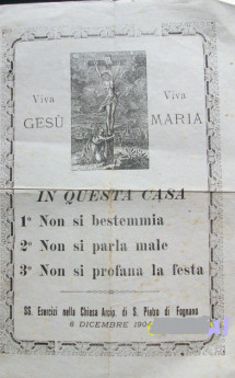 SS ESERCIZI -dicembre 1904- dalla collezione di  di Filippo Briccoli