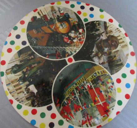1975-Cartolina coi CARRI DEI RIONI