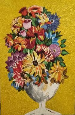 FIORI di Laura Renzetti, pittrice fantastica e immaginativa