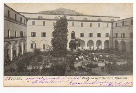 IL GIARDINO 1913 ( dalla collezione di Filppo Briccoli)