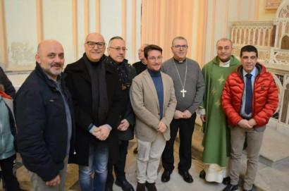 con l'Arcivescovo di Gaeta Mons. Luigi Vari